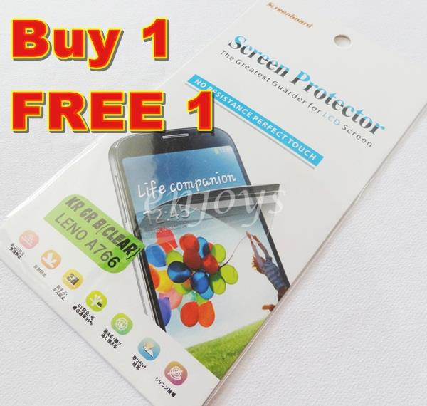 Enjoys: 2x Ultra Clear LCD Screen Protector Lenovo A766