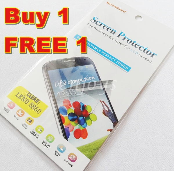 Enjoys: 2x Ultra Clear LCD Screen Protector for Lenovo S850