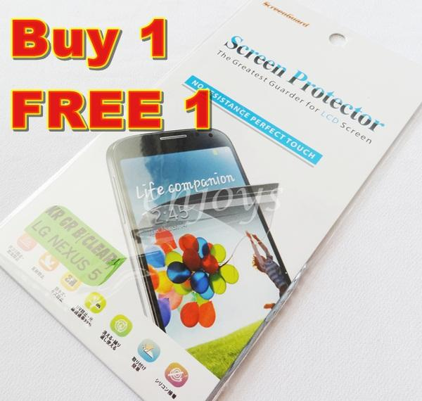 Enjoys: 2x Ultra Clear LCD Screen Protector LG Nexus 5 / D821
