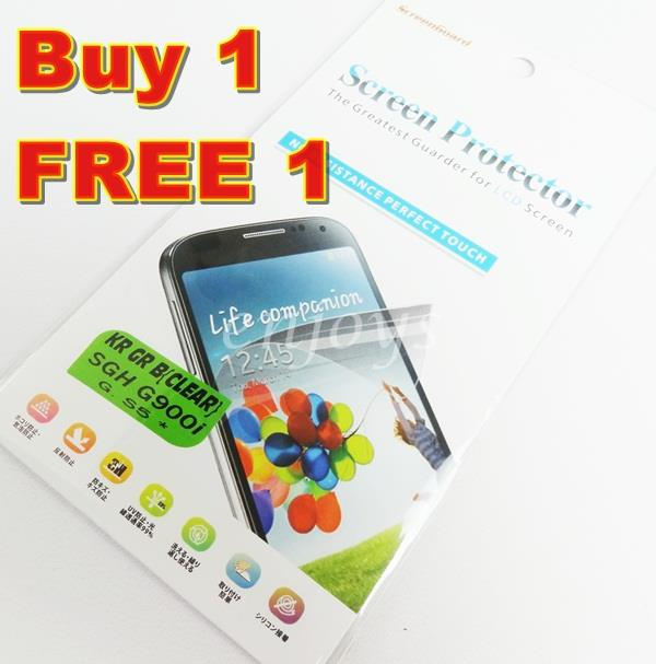 Enjoys: 2x Ultra Clear LCD Screen Protector Samsung Galaxy S5 / G900F