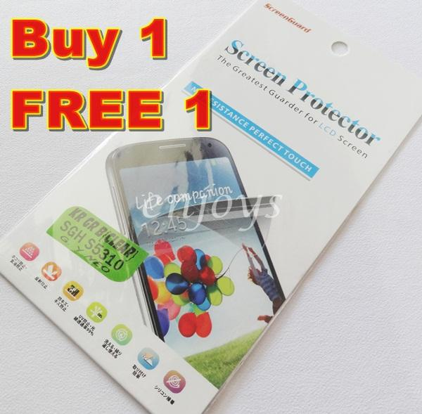 Enjoys: 2x Ultra Clear LCD Screen Protector Samsung Galaxy Y Neo S5310