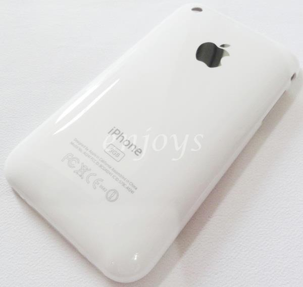 Enjoys: AP ORIGINAL HOUSING Back Cover Apple iPhone 3G 3GS 8GB ~WHITE