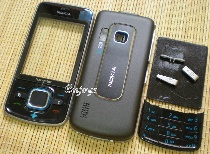 Enjoys: AP ORIGINAL HOUSING Nokia 6210 Navigator ~BLACK ~^#Full Set#^