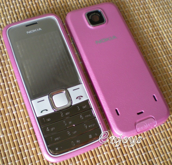 Enjoys: AP ORIGINAL HOUSING Nokia 7310 Supernova ~ PINK ~ #FULL SET#