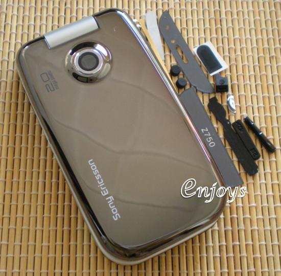 Enjoys: AP ORIGINAL HOUSING Sony Ericsson Z750 Z750i ~BLACK ~#Full Set
