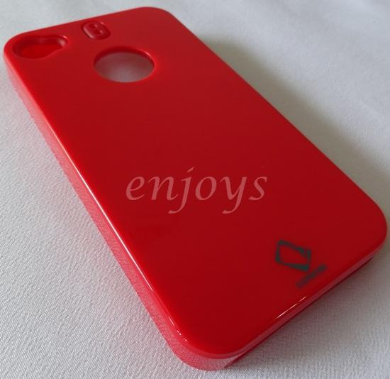 Enjoys: CAPDASE Shell Hard Case Back Cover Apple iPhone4 4 ~RED