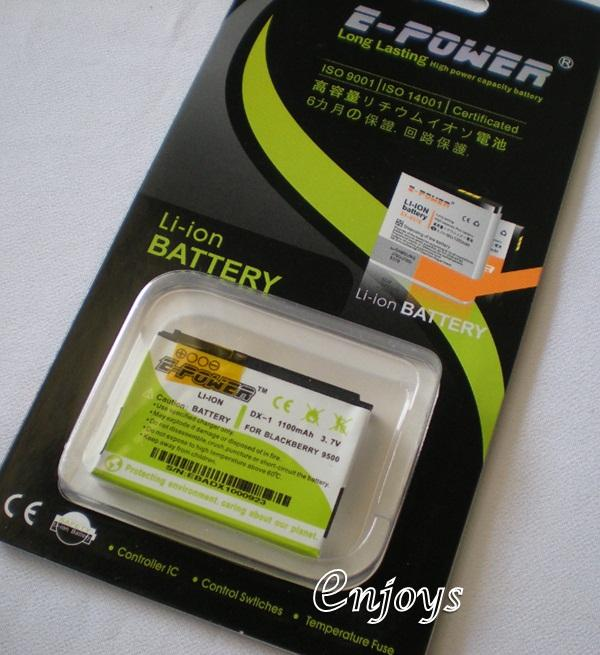 Enjoys: EPOWER Long Lasting Battery D-X1 Blackberry 8900 9500 9530