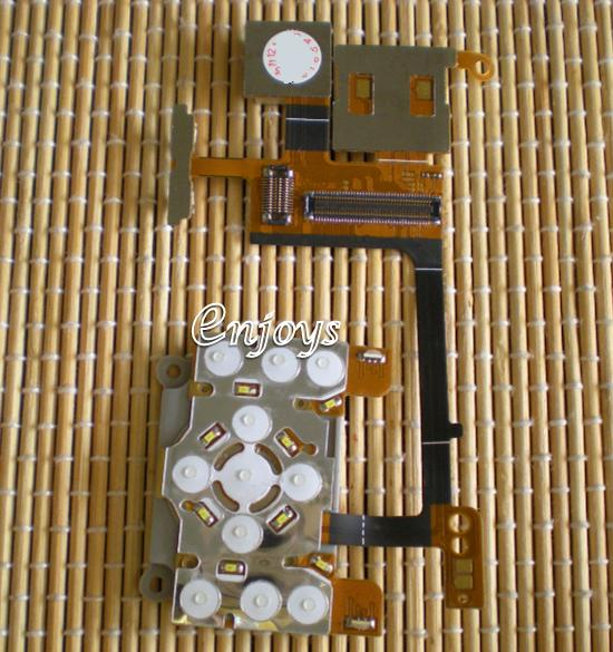 Enjoys: Front Keypad Flex Cable Ribbon SE W580i S500i ~BIG PIN @@@