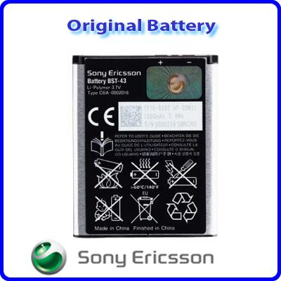 Enjoys: Genuine Battery BST-43 for Sony Ericsson Elm Hazel Cedar Yari