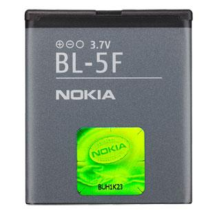Enjoys: Genuine NOKIA Battery BL-5F Nokia 6210 6710 Navi N78 N95 N96
