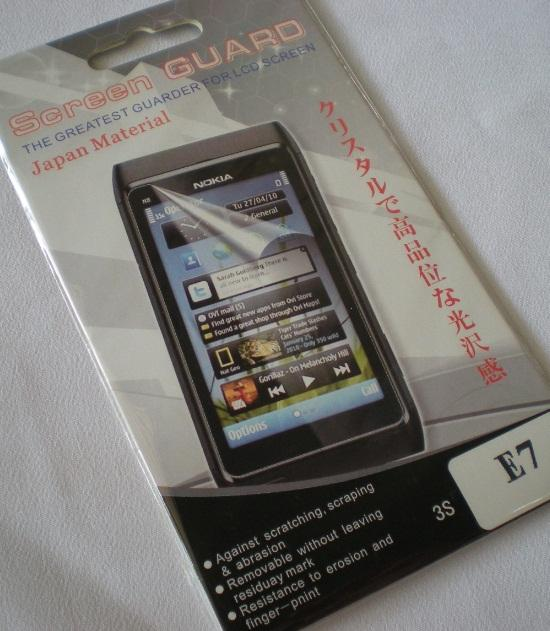 Enjoys: High Quality LCD Screen Protector for Nokia E7 E7-00