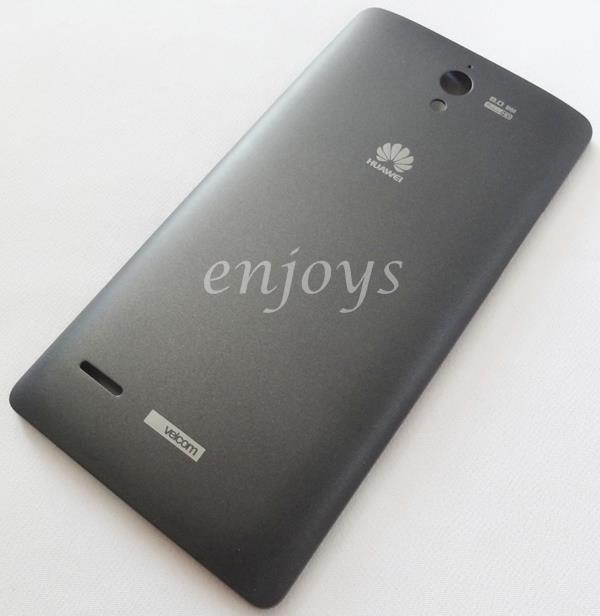 Enjoys: NEW HOUSING Part Back Battery Cover Huawei Ascend G700 ~BLACK