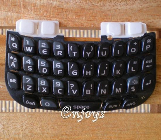 Enjoys: Keyboard Keypad BlackBerry Curve 8520 ~BLACK @Press like ORI