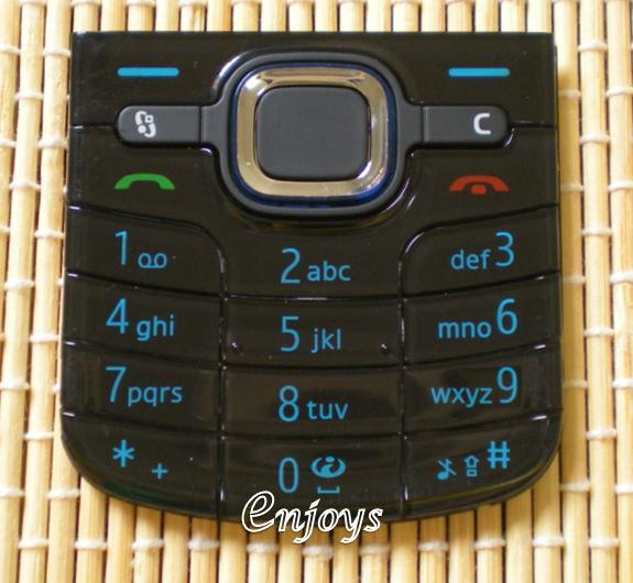 Enjoys: Keyboard Keypad Part Nokia 6220 classic ~BLACK @Press like ORI
