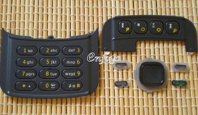 Enjoys: Keyboard Keypad Part Nokia N86 8MP ~ BLACK @Press like ORI