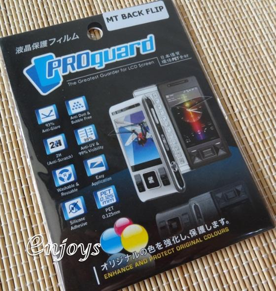Enjoys: LCD Screen Protector for Motorola BACKFLIP / MB300 ~#New#