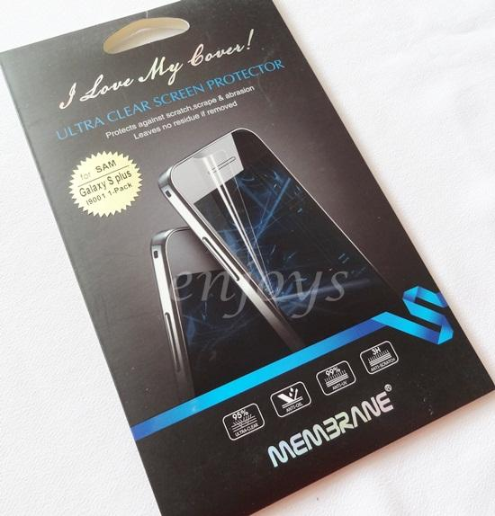 Enjoys: MEMBRANE Clear Screen Protector Samsung I9000 I9001 Galaxy S