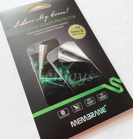 Enjoys: MEMBRANE Matte AG Screen Protector Samsung I9003 Galaxy SL