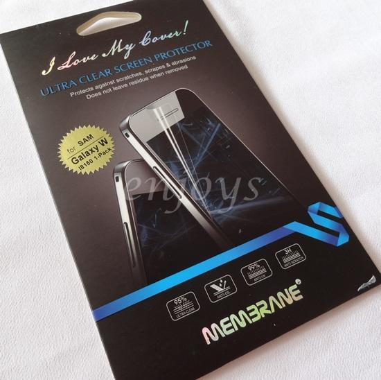 Enjoys MEMBRANE Ultra Clear 3H Screen Protector Samsung Galaxy W I8150