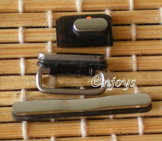 Enjoys ORI Side Button Set Apple iPhone 3G 3GS ~Power, Volume, Silence