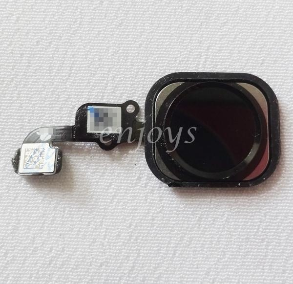Enjoys: ORIGINAL Home Button Flex Cable Ribbon Apple iPhone 6S ~BLACK