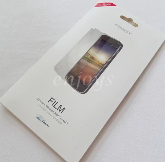 Enjoys: PISEN Shiny Clear LCD Screen Protector for LG Nexus 4 E960