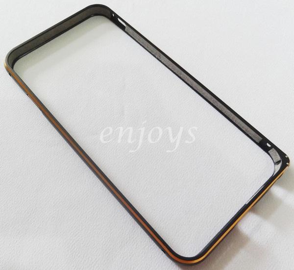 Enjoys: Premium Slim Metal Aluminum Bumper Apple iPhone 6 ~BLACK