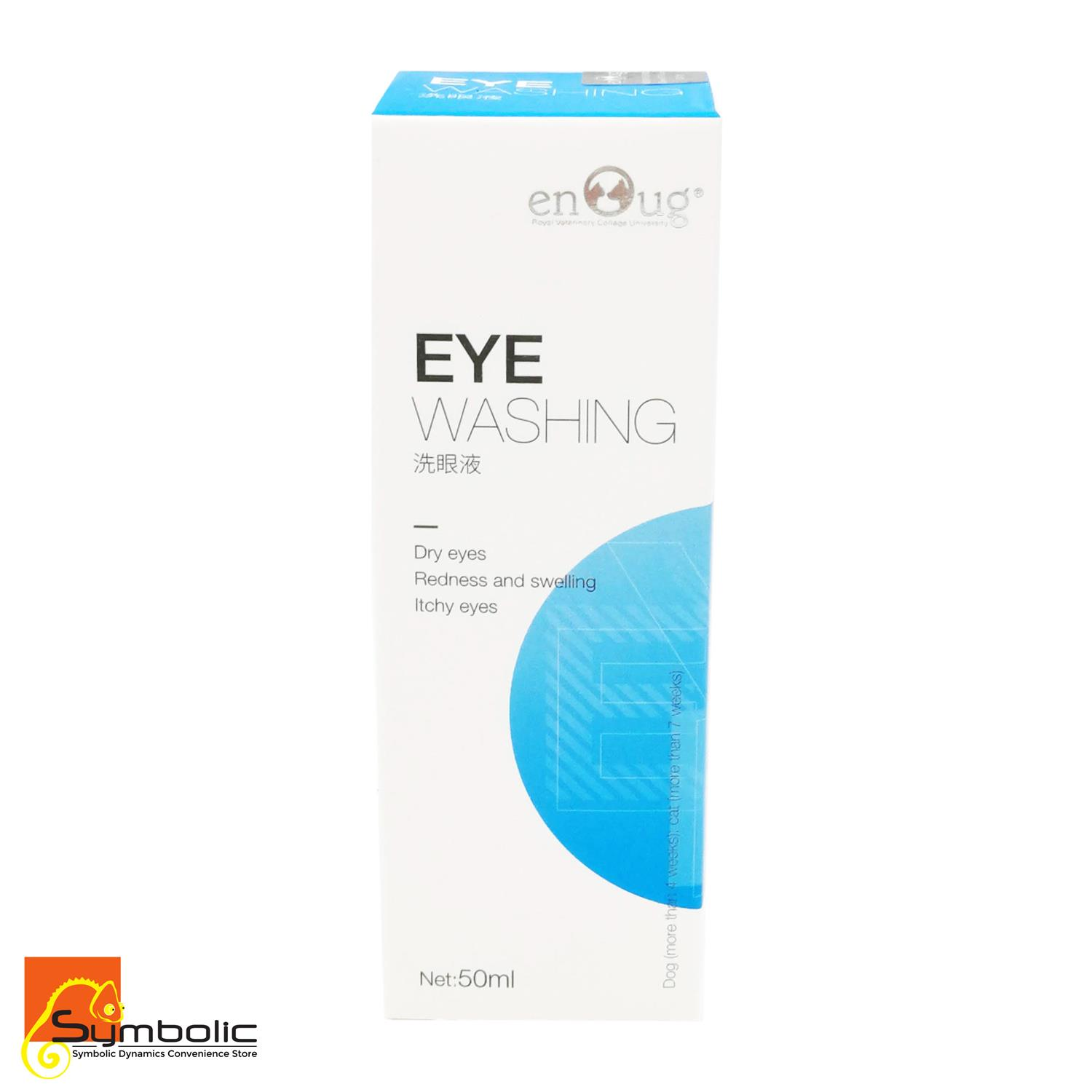 Enoug Eye Washing