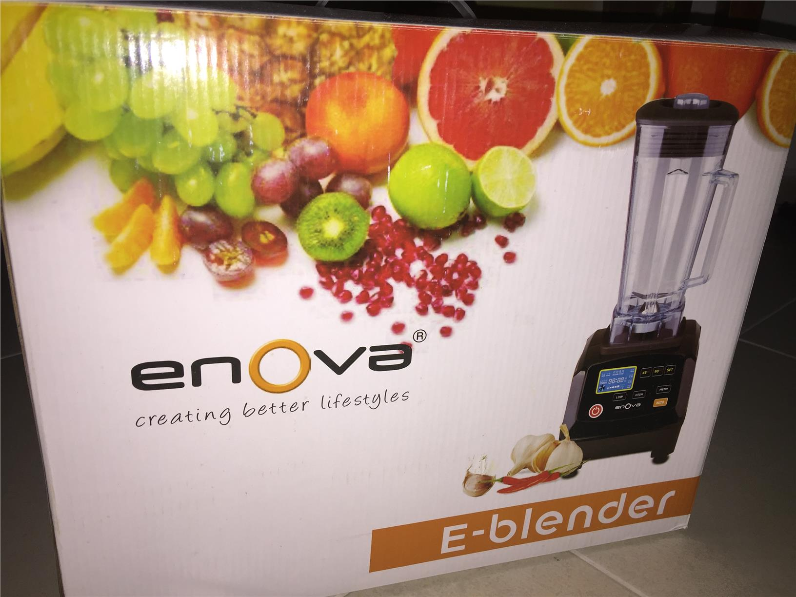 AS NEW Enova E-Blender Blender