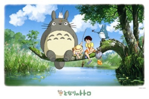 ensky My Neighbor Totoro Fishing Jigsaw Puzzle (1000-Piece)