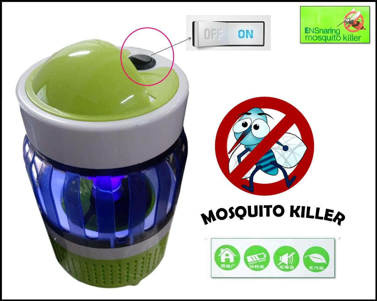ENSnaring Electrical Mosquito Pest Repeller Killer Trap Night Lamp