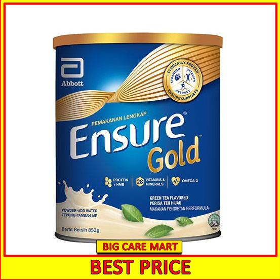 ENSURE GOLD COMPLETE NUTRITION GREEN TEA 850G