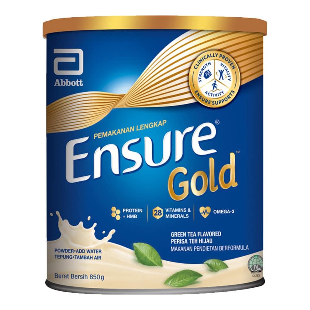 ENSURE Gold Green Tea 850g