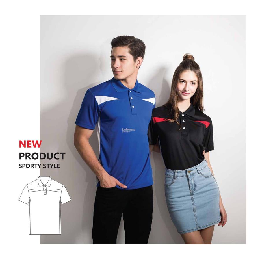 Enzo Chest Cut Polo Jersey 2883