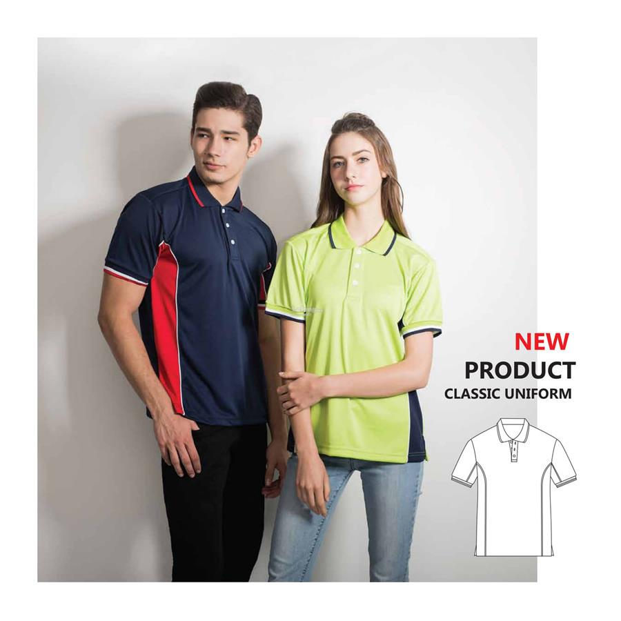 Enzo Cut & Sew Polo Jersey 2784