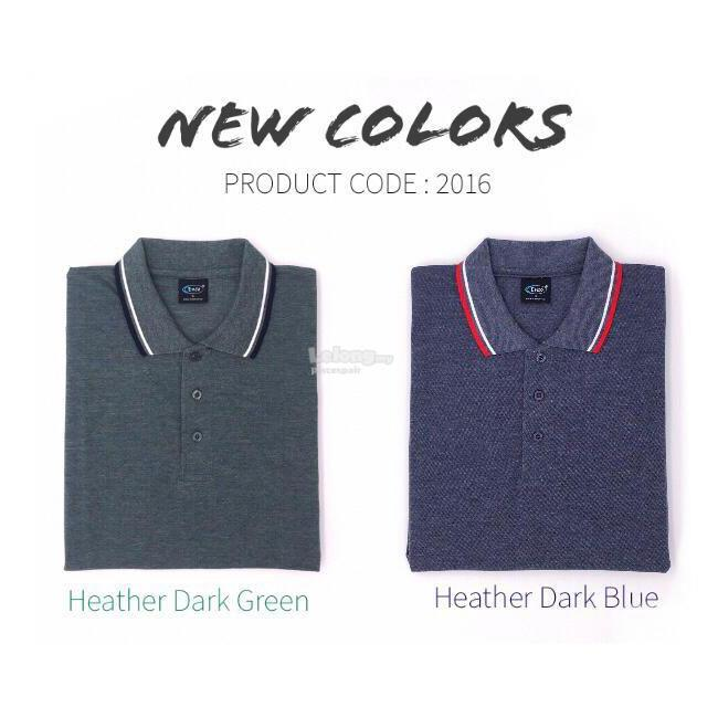 Enzo Heather Color Polo T-shirt 2016