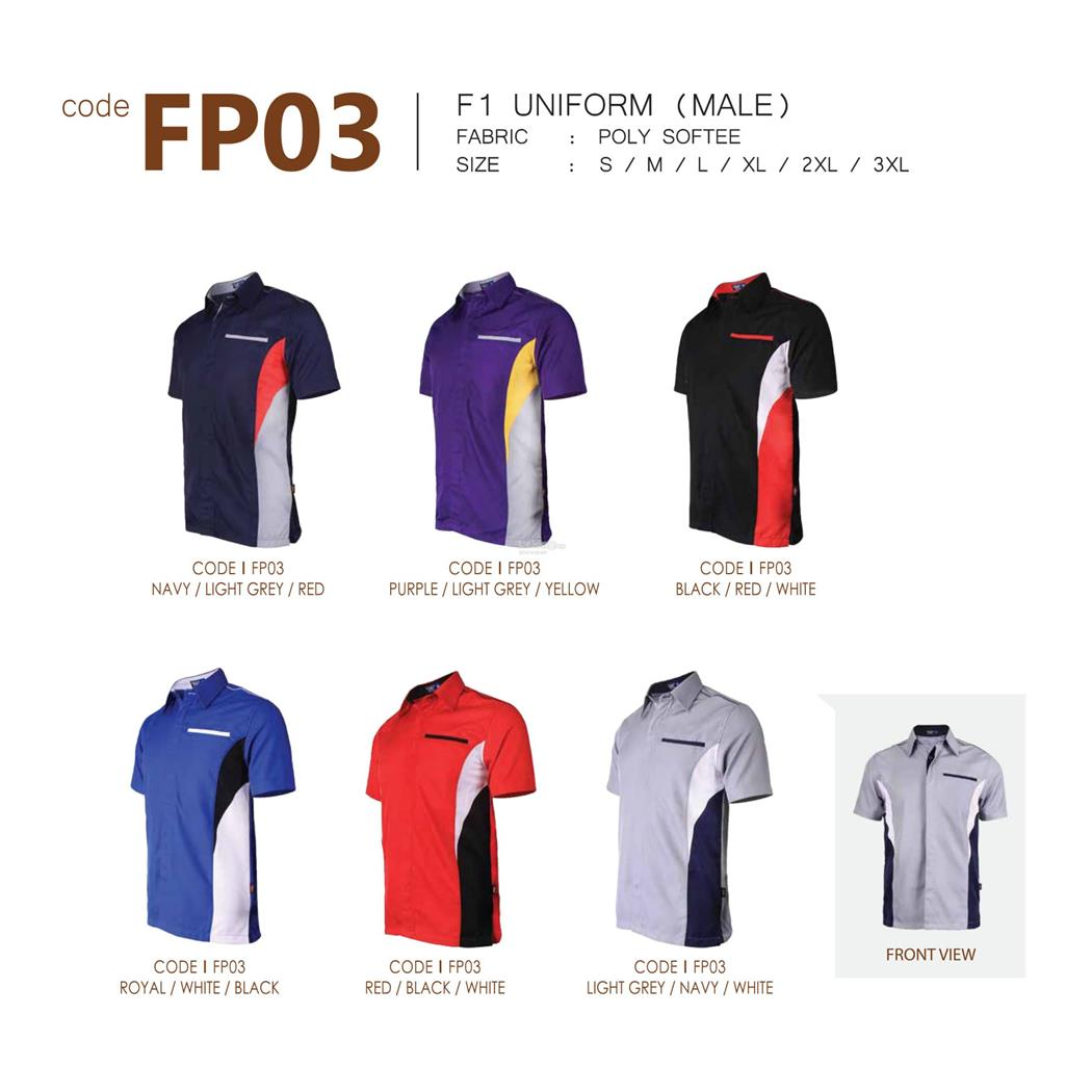 Enzo Men F1 Uniform FP03