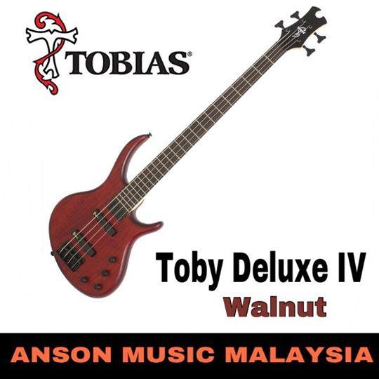 Epiphone Toby Deluxe-IV 4-String Bass, Satin Walnut