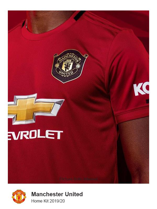 Epl Manchester United Home Jersey 2 End 10 16 2020 8 15 Pm