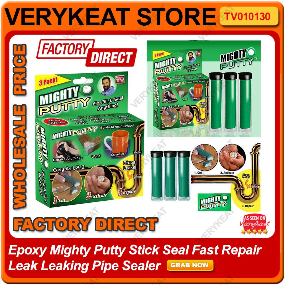 Leak Sealing Putty : Epoxy mighty putty stick seal fast end  am