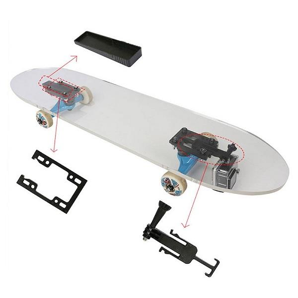 Eprocool Skateboard Combo System with Gopro Mount+Secret Stash Drawer