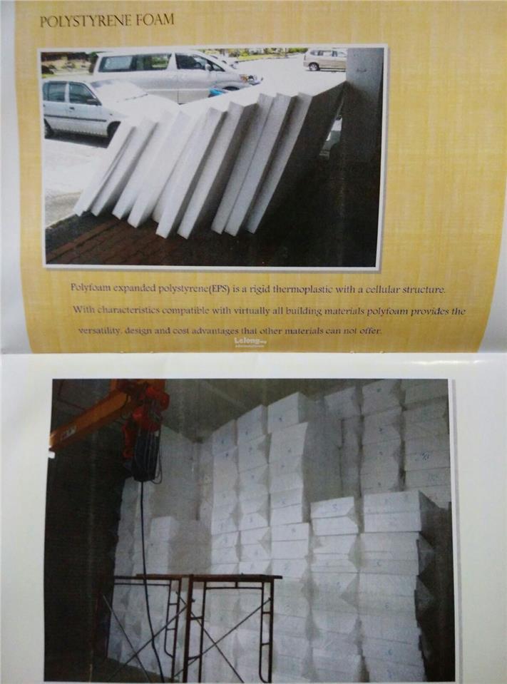 EPS Poly Styrene Foam Manufacturer Malaysia GABUS floating