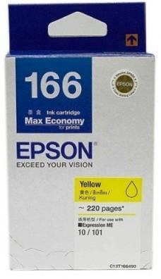 Epson 166 Yellow Ink Cartridge (T166490)