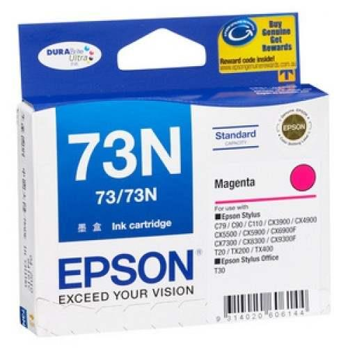 Epson 73N Magenta Ink Cartridge (T105390)