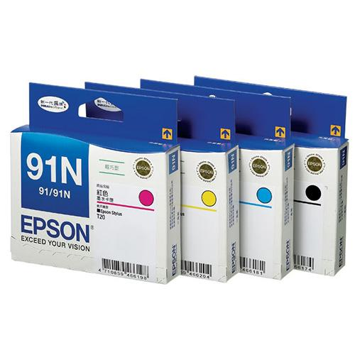 Epson 91N SET Ink Cartridge (CMYK)