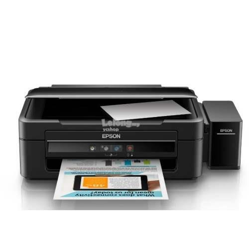 Epson A4 3 In 1 Print Color Inkjet Printer L360