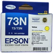 Epson C13T105490 73N Yellow Ink Cartridge 73 N