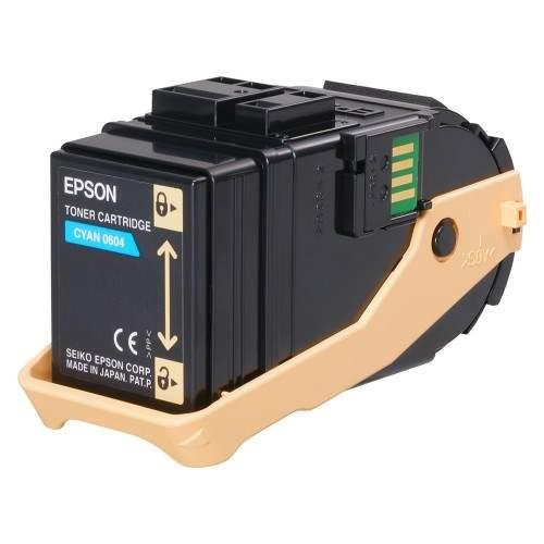 Epson Cyan Toner Cartridge (C13S050604)