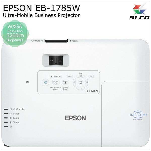 Epson Eb 1785w 3lcd Wxga Ultra Mobil End 2 27 2018 8 15 Pm
