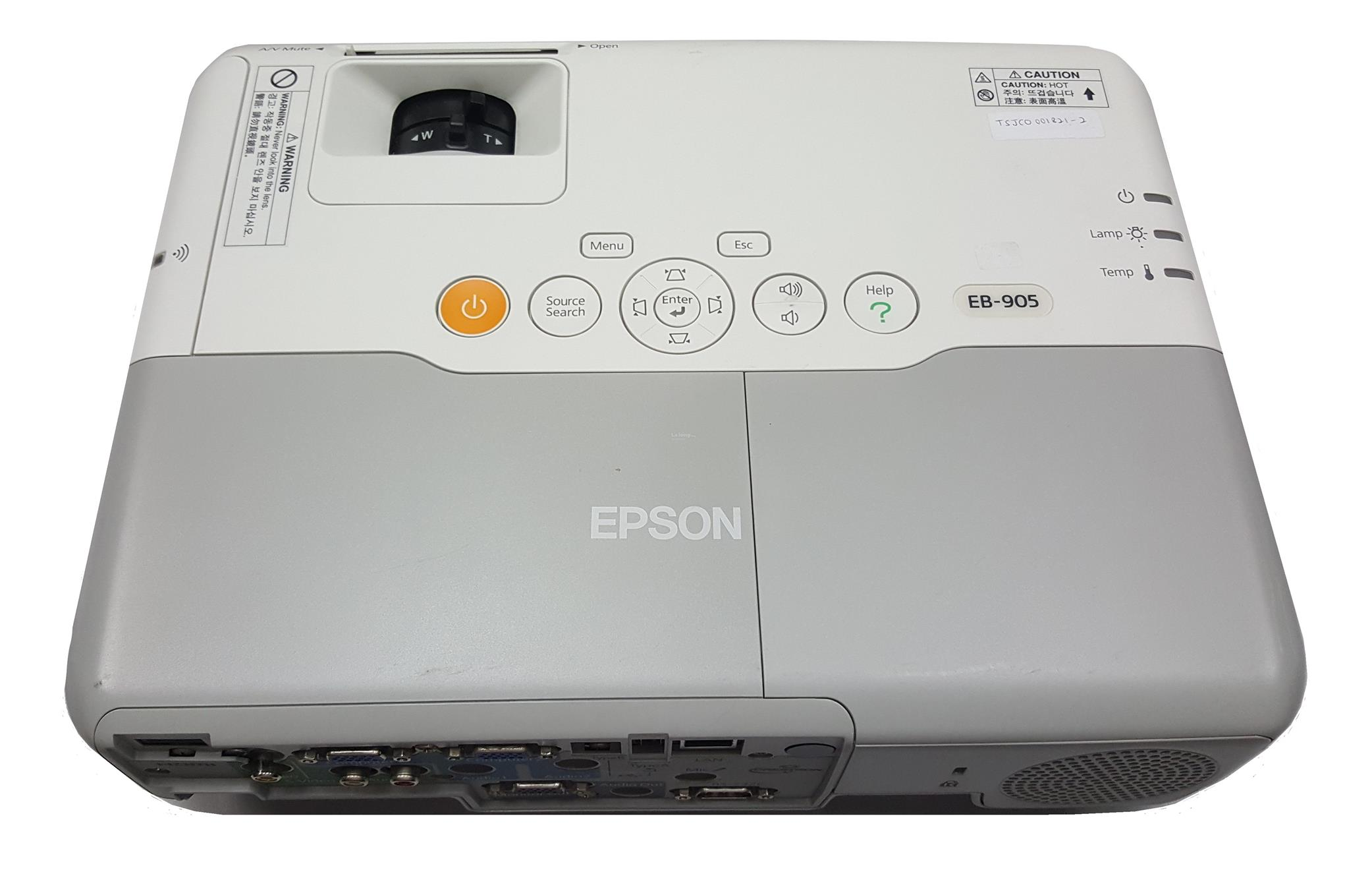 used epson eb 905 lcd projector end 2 23 2019 11 15 am